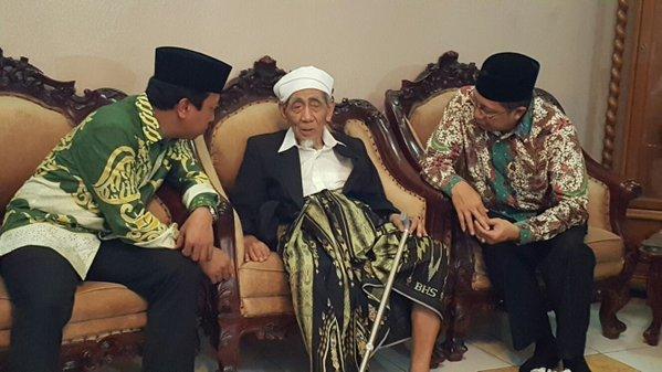 Lukman Hakim Temui Ketua Majelis Syariah PPP