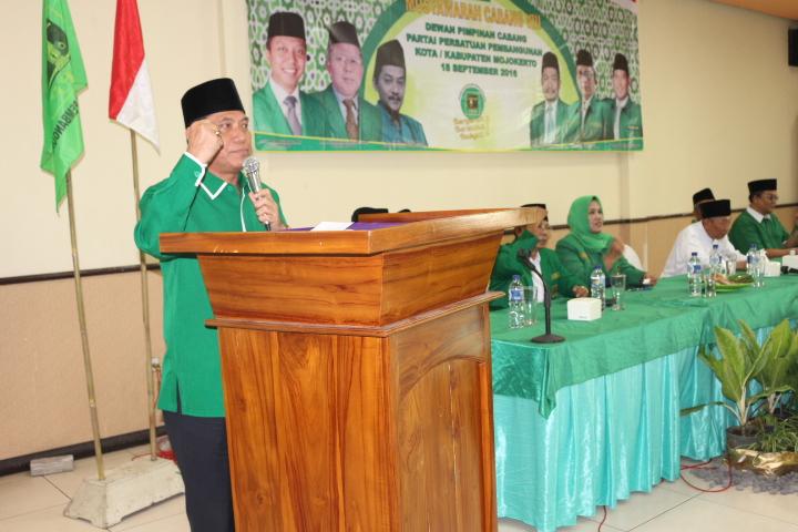 DPC PPP Kab & Kota Mojokerto Mengadakan Muscab VIII Secara Bersama sama