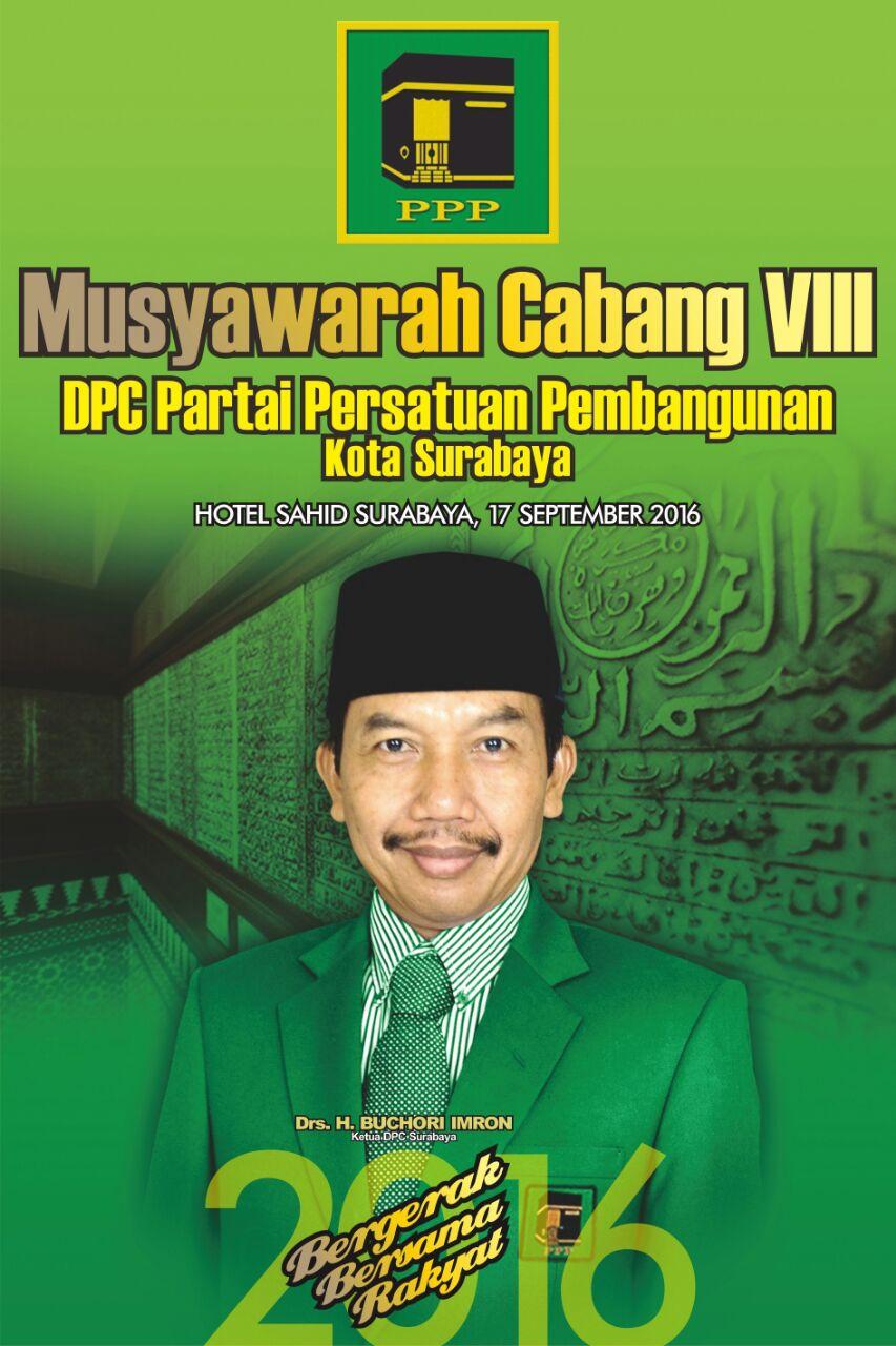 PPP Surabaya Gelar Muscab