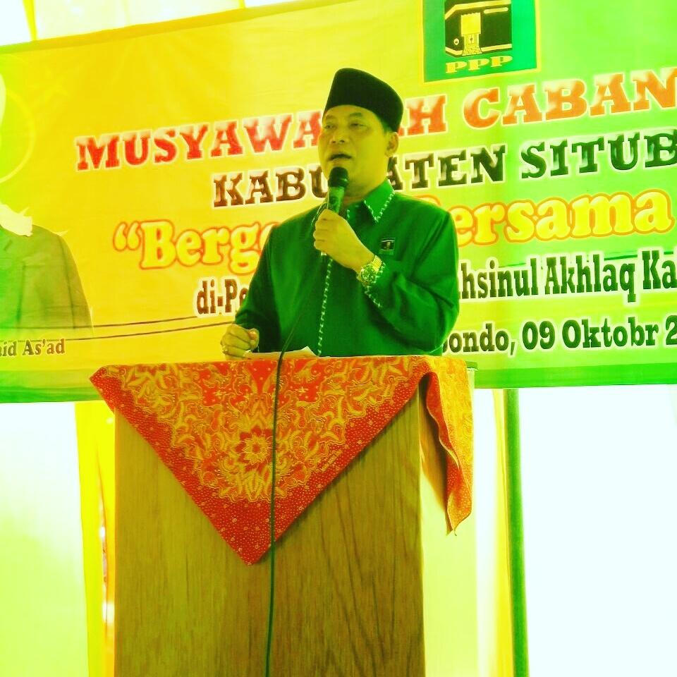 Ketua PPP Situbondo Mendatang Harus Bisa mengembalikan Kejayaan PPP