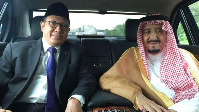 Cerita Mentri  Agama Bersama Raja Salman dalam Satu Mobil