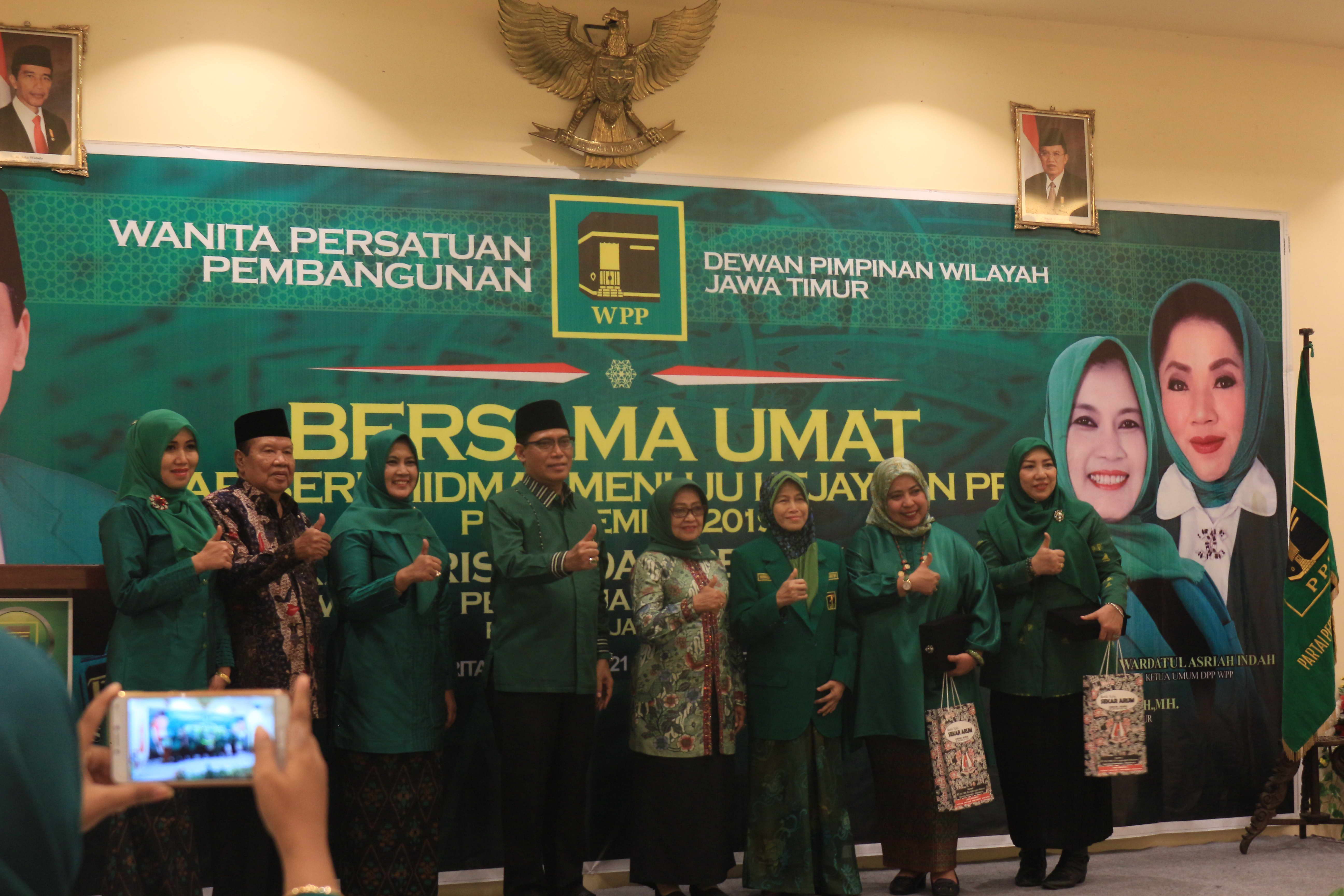 Peranan Penting Wanita Persatuan Pembangunan di pemilu 2019