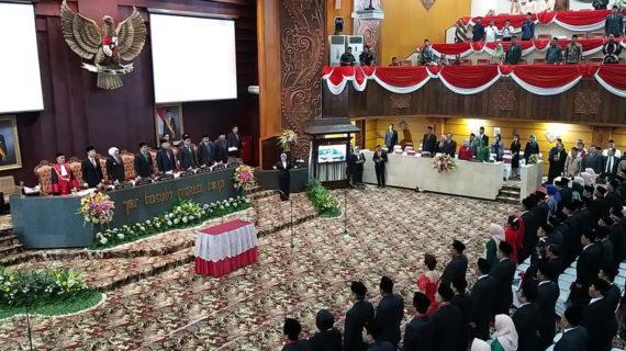 Pelantikan Anggota DPRD Jawa Timur 2019