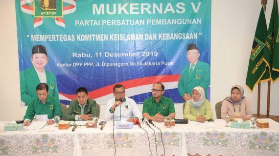 PPP bahas pelaksanaan Muktamar IX di Mukernas