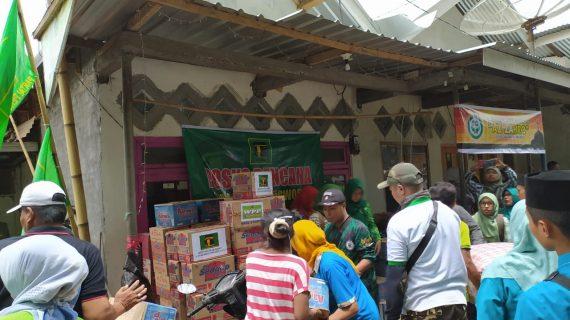DPC PPP Bondowoso Peduli Bencana Banjir Bandang Ijen, Berikan Santunan Sembako