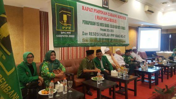 PPP Kabupaten Jember Tidak Mau Bupati yang Suka 'Berantem'