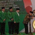 Hadiri Acara PPP, Ma'ruf Singgung soal Omnibus Law Dipelesetkan Cilaka