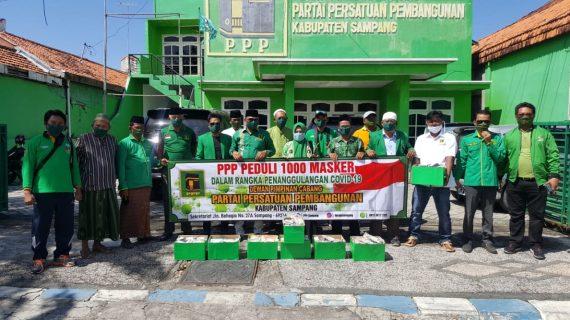 DPC PPP Sampang Merasa Kewajiban Bersama Dalam Memutus Mata Rantai Penyebaran Covid-19