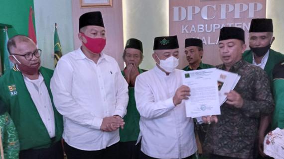 PPP Berikan Rekomendasi untuk Pasangan SanDi di Pilbup Malang 2020