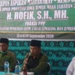 Aba Rofik, Anggota F-PPP DPRD Jatim Salurkan Bantuan Infrastruktur
