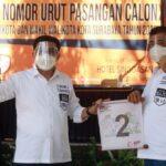 Machfud Arifin-Mujiaman Nomor Urut 2: Ini Simbol Kemenangan