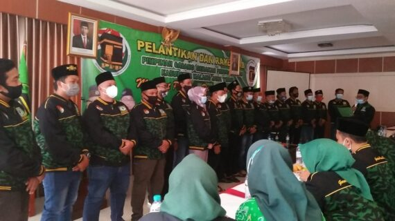 Pemuda Ka'bah Dilantik, PPP Malang Target Capai Parliamentary Threshold