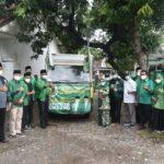 DPW PPP Jatim Peduli Banjir Di Jombang Memberi Bantuan Sembako Dan Obat Obatan