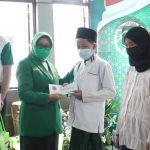 PPP Jombang Sebar Ribuan Paket Bansos untuk Warga Terdampak Covid-19